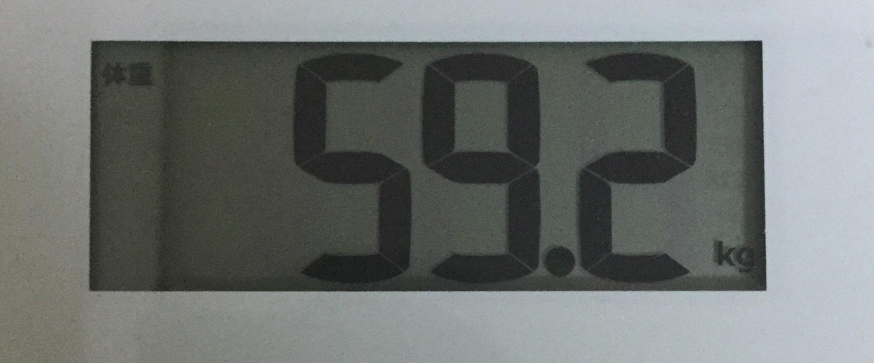 ライザップ終了時の体重
