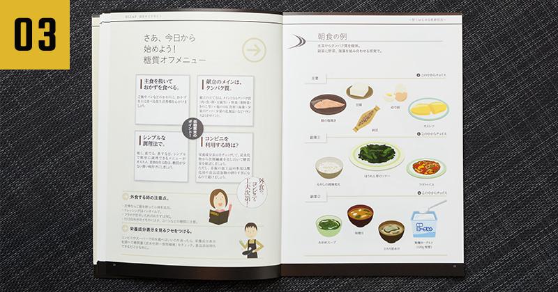 ライザップ-食事の知識を身につけられるガイドブック